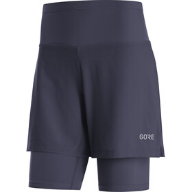 GORE WEAR R5 2-in-1 Shorts Dames, orbit blue